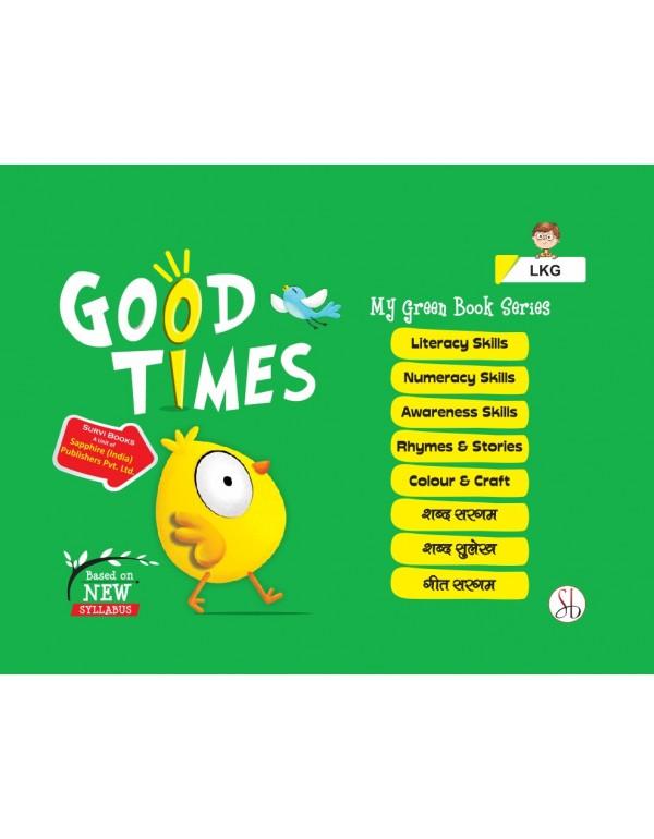 Good Times Series With Hindi LKG Bag