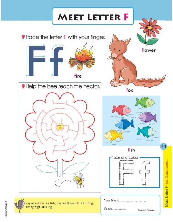 Cuckoo's Big Bunch of WS Series (4 subject worksheets - SET OF 8 books)