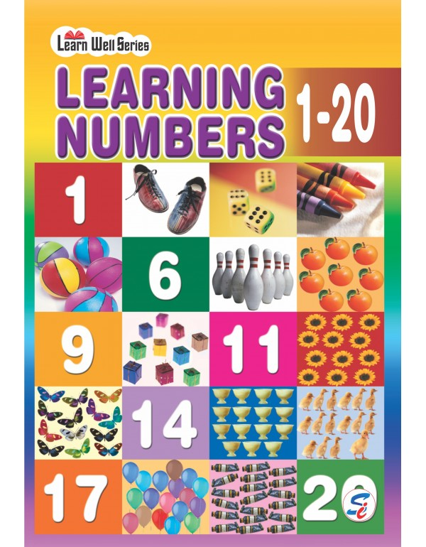 Learning Numbers 1-20 (E-Book)