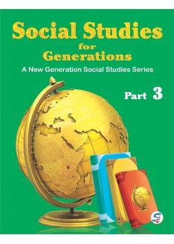 Social Studies For Generations 3