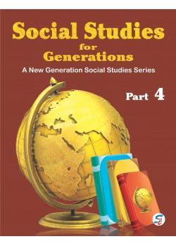 Social Studies For Generations 4