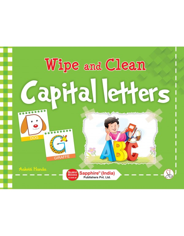 Wipe and Clean Capital Letters