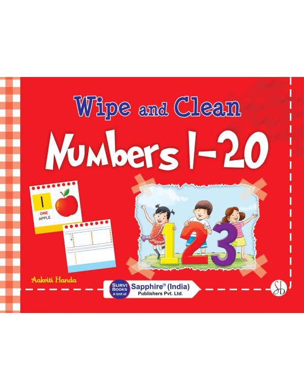 Wipe and Clean Numbers 1-20